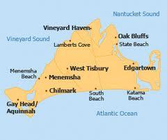 map of Martha's Vineyard