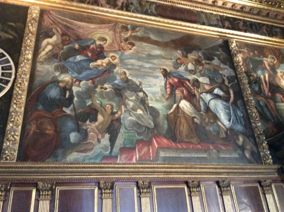 Painting in the Doge's Palace