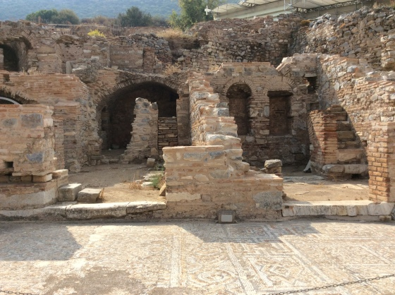 a house in Ephesus