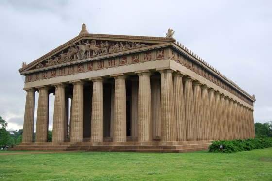 replica of Parthenon