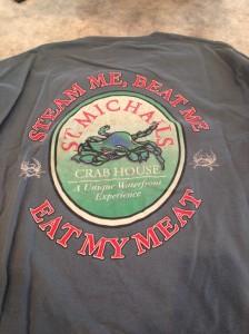 Soft shell crab t-shirt