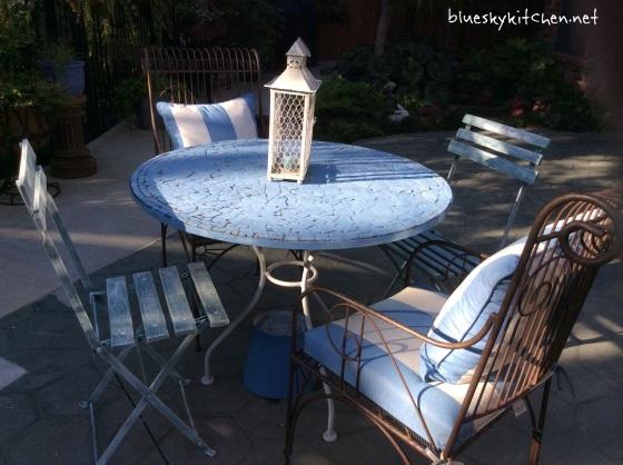 French garden chairs transformation