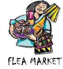 Flea market shopper